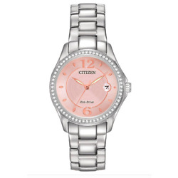 Kyпить $250 Citizen Women's Eco-Drive Silhouette Crystal Watch with Date, FE1140-86X на еВаy.соm