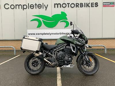TRIUMPH TIGER EXPLORER XCA 2017 - ONLY 830 MILES FROM NEW