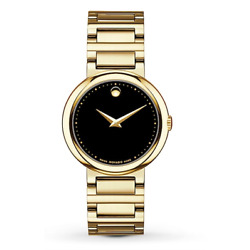 Kyпить $1495 MOVADO Concerto Gold-Plated Stainless-Steel Ladies Watch 0606420 на еВаy.соm