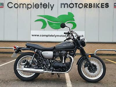 KAWASAKI W800 STREET - 2021 - IN STOCK READY FOR IMMEDIATE DELIVERY