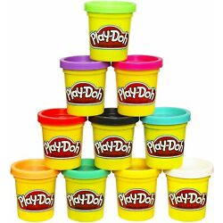 Kyпить NEW Play-Doh Modeling Compound 10-Pack Case of Colors, Non-Toxic, Assorted Color на еВаy.соm