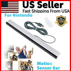 Kyпить Wired Remote Motion Sensor Bar IR Infrared Ray Inductor for Nintendo Wii / Wii U на еВаy.соm