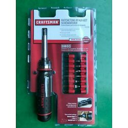 Kyпить  Craftsman Ratcheting Ready-Bit Screwdriver #41796 Made In USA. New! на еВаy.соm