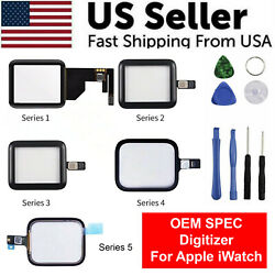 Kyпить For Apple Watch Series 4 3 2 1 38mm 42mm 40mm 44mm Touch Screen Digitizer Glass на еВаy.соm