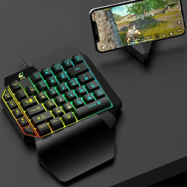 Lichfield,United KingdomMechanical Gaming Keyboard Full Anti-ghosting RGB LED Backlit for PC PS4 Gamer