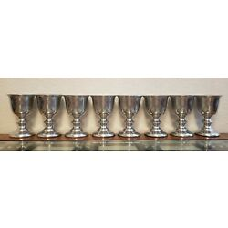 Kyпить Set of 8 Wilton Columbia PA Goblets / Cups 5 inches tall  на еВаy.соm