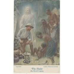 Kyпить The Healer by Harold Copping -- Medicine administered to African People - Jesus на еВаy.соm
