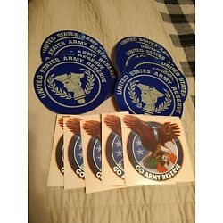 Lot Of 15 New United States Army Reserve Stickers