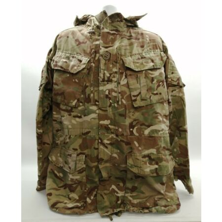 img-Genuine Ex Army MTP Smock Jacket Grade 1 Windproof Combat Camouflage Hunting