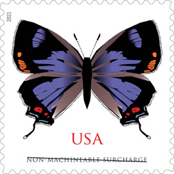 Kyпить #5568 2021 Colorado Hairstreak Butterfly 2oz rate ( Ships after March 9)   - MNH на еВаy.соm