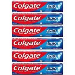 Kyпить Colgate Cavity Protection Toothpaste with Fluoride - 6 Ounce (Pack of 6) на еВаy.соm