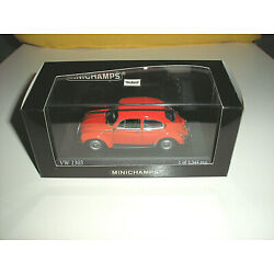 Kyпить VW Käfer 1303 - 1973 - Phoenixrot - Minichamps 1:43 на еВаy.соm