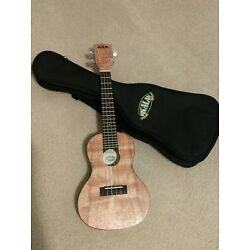 Kyпить Kala KA-EMTU-C Satin Exotic Mahogany Thin Body Travel Concert Ukulele with Bag на еВаy.соm