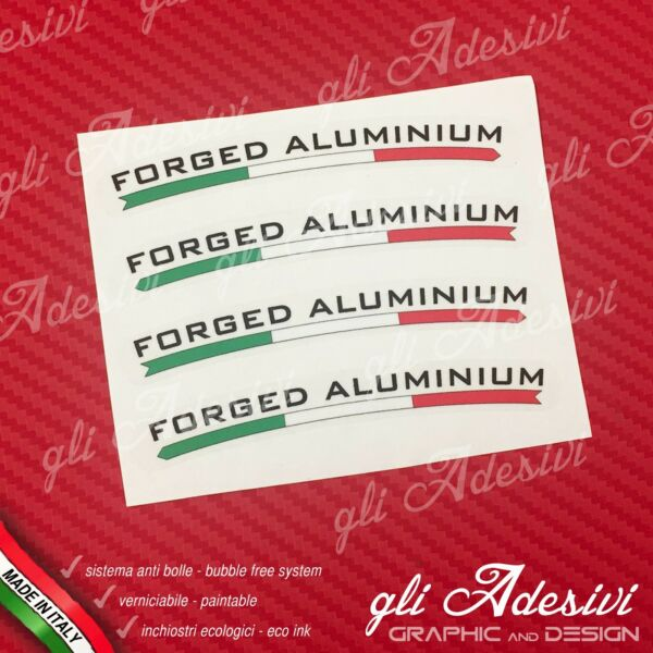 ItalienSet 4  Rad Marchesini Forged Aluminium Hintergrund Transparent