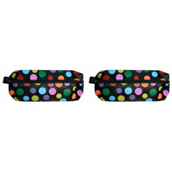 Kyпить PVC Zip top polka dot pencil case complete with all you need stationery set на еВаy.соm
