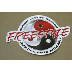 FREESTYLE GUERRILLA MARTIAL ARTS ACADEMY STRIKING WEAPONS GRAPPLING STICKER