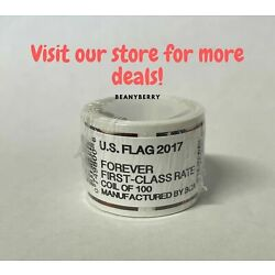 Kyпить 2017 USPS Forever Flag Stamps Coil 100 stamps FREE shipping! на еВаy.соm
