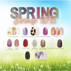 Kyпить NEW SPRING COLOR STREET NAIL POLISH STRIPS 2021 SET KIT MANICURE GLITTER DESIGNS на еВаy.соm