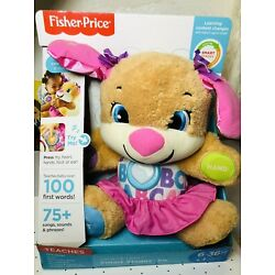 Fisher Price Laugh and Learn Smart Stages Puppy Interactive Stuffed Plush Toy