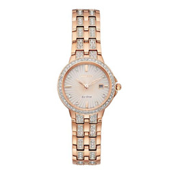 Kyпить $375 CITIZEN Eco-Drive Silhouette Crystal Ladies Watch Item No. EW2348-56A на еВаy.соm