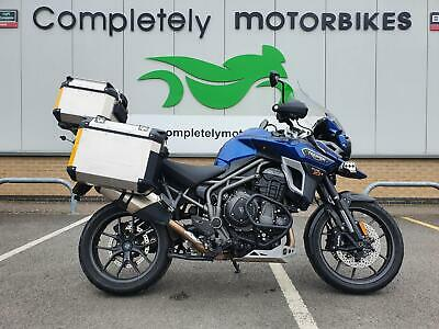 TRIUMPH TIGER EXPLORER XRX 2017 - FULL LUGGAGE - ONLY 9226 MILES