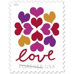 Kyпить LOVE HEARTS BLOSSOM USPS FOREVER STAMPS 10 Panes of 20 (200 stamps) USA #565000 на еВаy.соm