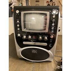 Kyпить The Singing Machine STVG-519 Deluxe Karaoke System plays CD+G Connects to TV на еВаy.соm