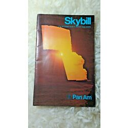 Kyпить VINTAGE 1972 PAN AM SKYBILL CLIPPER GUIDE TO US VIRGIN ISLANDS BROCHURE на еВаy.соm
