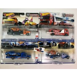 Kyпить 4 Car Set Case L * 2021 Hot Wheels Team Transport SRT, Ford, BMW, Baja  IN STOCK на еВаy.соm