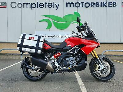 APRILIA CAPONORD 2014 - GIVI PANNIERS - ONLY 6752 MILES FROM NEW