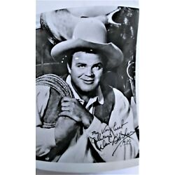 Kyпить Hoss Cartwright of Bonanza AUTOGRAPHED PHOTOGRAPH Actor Dan Blocker 5