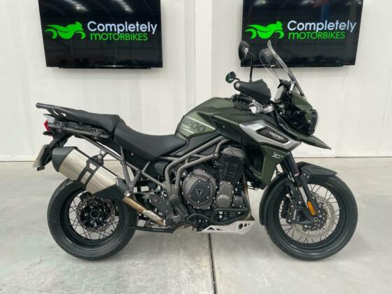 TRIUMPH TIGER 1200 XCX 2020 - ONE PRIVATE OWNER FROM NEW