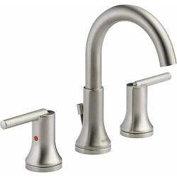 Kyпить DELTA TRINSIC 2 Handle Widespread Bathroom Faucet -3559-SSMPU-DST -STAINLESS на еВаy.соm