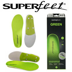Kyпить Superfeet GREEN Insoles Professional-Grade High Arch Orthotic Insole-Size DEF Us на еВаy.соm