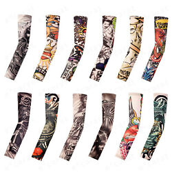 Kyпить 12-Pack Tattoo Cooling Arm Sleeves Cover Basketball Golf Sport UV Sun Protection на еВаy.соm