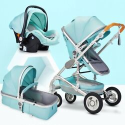 Kyпить Multifunctional 3 in 1 Baby Stroller High Landscape Stroller FREE 7 DAY DELIVERY на еВаy.соm