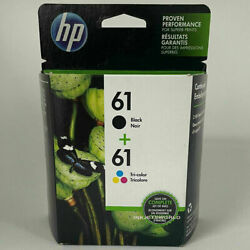 Kyпить HP 61 2pack Combo Ink Cartridges Black and Color NEW GENUINE на еВаy.соm