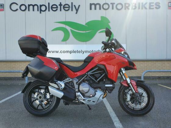 DUCATI MULTISTRADA 1260 2019 - FULL DUCATI LUGGAGE - ONLY 2283 MILES FROM NEW