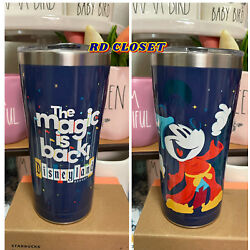 Kyпить Disneyland Resort The Magic is Back Sorcerer Mickey Tervis Tumbler. Brand New на еВаy.соm