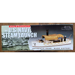 Kyпить King and Country US Navy Steam Launch, #USN012, Retired, Rare, NIB на еВаy.соm