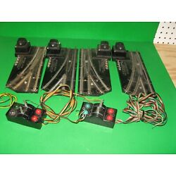 Kyпить Lot of 4 American Flyer Switches with 2 Controllers Untested на еВаy.соm