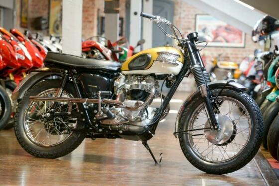 Triumph Bonneville 1964 T120C TT Competition with matching numbers