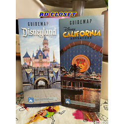 Kyпить Disneyland & Disney California Adventure REOPENING Day Park Maps. Authentic на еВаy.соm