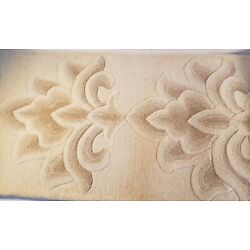 Kyпить Home Decorators Collection Frill Rug Beige 3' x 8' Handtufted 100% Wool, India на еВаy.соm