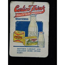 Kyпить vintage advertising needle booklet Carlson-Frink Dairy Products, Denver,Colorad0 на еВаy.соm