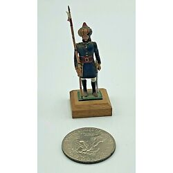 Kyпить Hand Painted Lead Metal 54mm Ottoman Turkish Miniature Toy Soldier w/ Wood Base на еВаy.соm