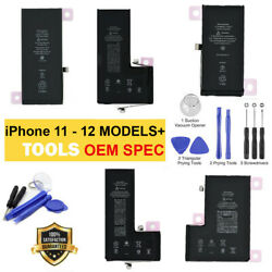 OEM SPEC Replacement Internal Battery For iPhone 12 Pro 11 Pro Max Tool Adhesive