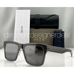 DITA INSIDER TWO Sunglasses Gray Crystal Silver Mirror Lens DRX-2090-C-T-GRY-52
