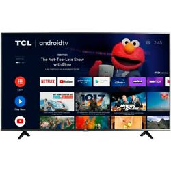 TCL - 43'' Class 4-Series LED 4K UHD HDR Smart Android TV