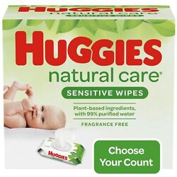 Huggies Natural Care Sensitive Baby Wipes *You Choose Scent/Count/Style